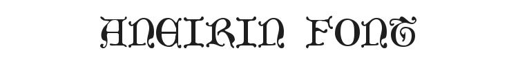 Aneirin Font