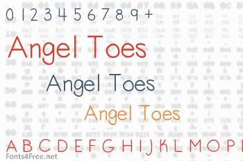 Angel Toes Font
