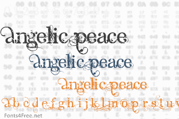Angelic Peace Font