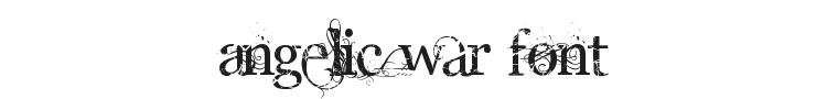 Angelic War Font
