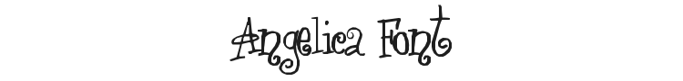 Angelica Font Preview