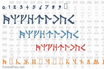 Angerthas Font
