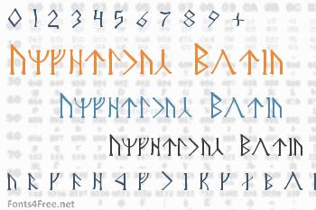 Angerthas Moria Font
