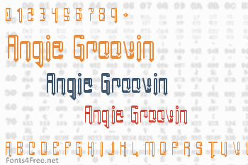 Angie Groovin Font