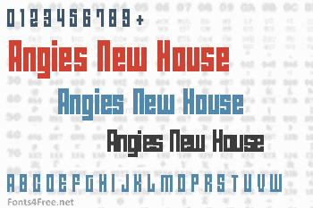 Angies New House Font