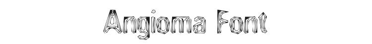 Angioma Font