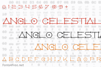 Anglo Celestial Font