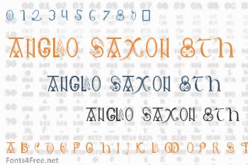 Anglo Saxon 8th Century Font
