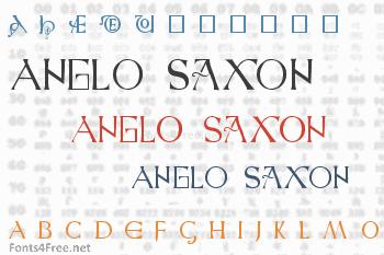 Anglo Saxon Font