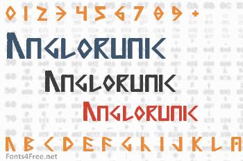 Anglorunic Font