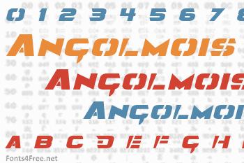 Angolmois Font