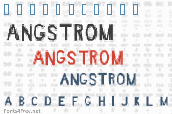 Angstrom Font