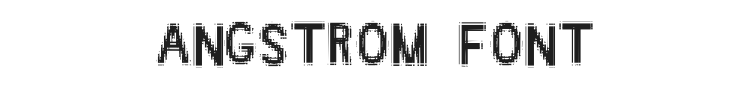 Angstrom Font Preview