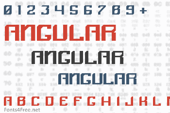Angular Font