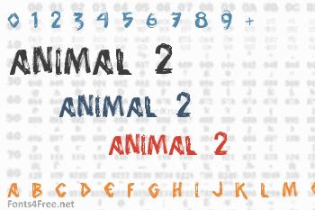 Animal 2 Font