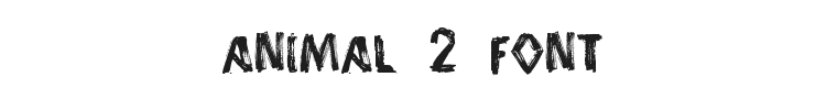 Animal 2 Font Preview