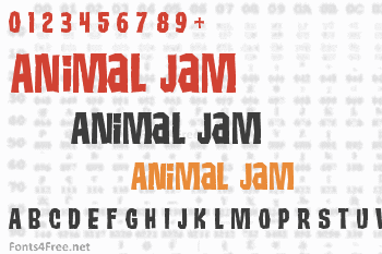 Animal Jam Font