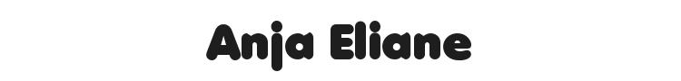 Anja Eliane Font Preview
