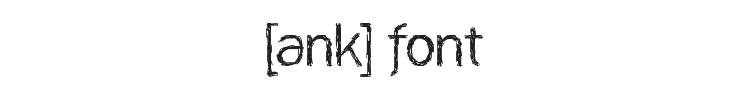[ank] Font