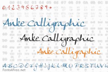 Anke Calligraphic Font
