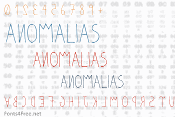 Anomalias Font