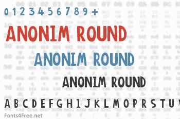 Anonim Round Font