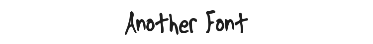 Another Font Preview
