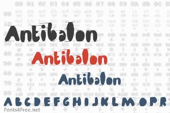 Antibalon Font