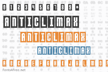 Anticlimax Font