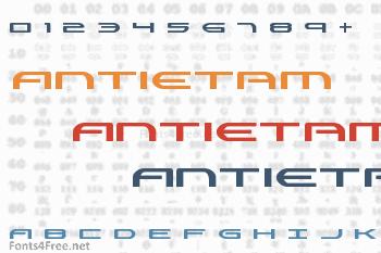 Antietam Font