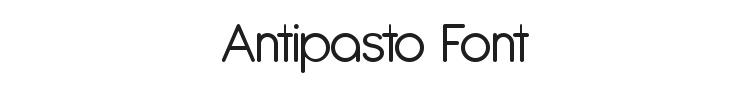 Antipasto Font