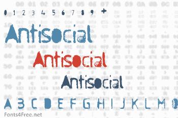Antisocial Font