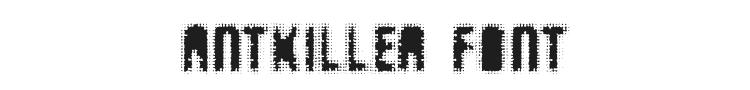 AntKiller Font Preview