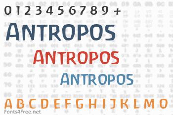 Antropos Font