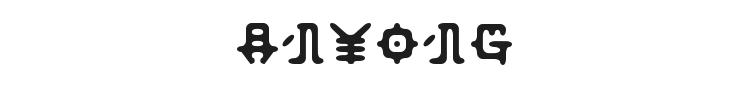 Anyong Font