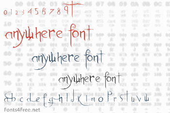Anywhere Font