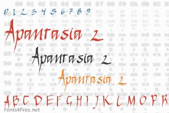Apantasia 2 Font