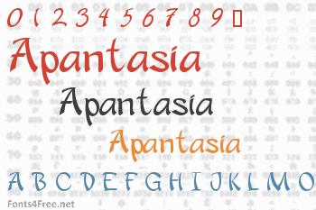Apantasia Font
