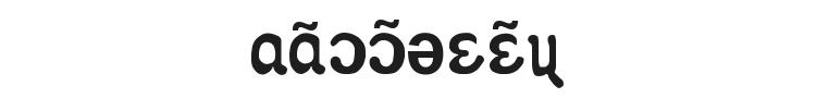 Apicar Font Preview