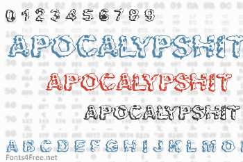 Apocalypshit Font