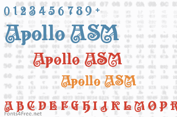 Apollo ASM Font
