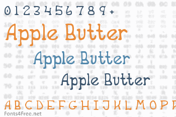 Apple Butter Font
