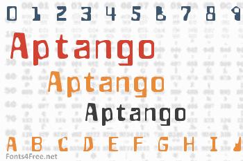 Aptango Font