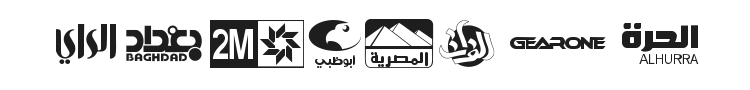Arab TV logos Font Preview