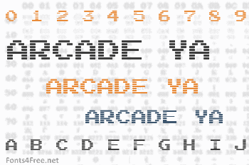 Arcade Ya Font