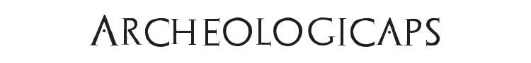 Archeologicaps Font Preview