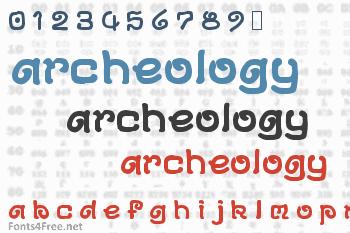 Archeology Font