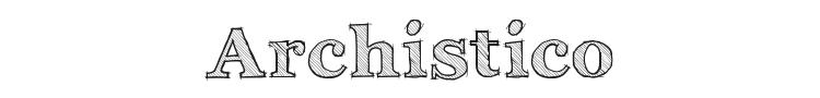 Archistico Font Preview