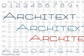 Architext Font