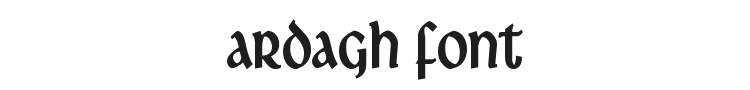 Ardagh Font Preview